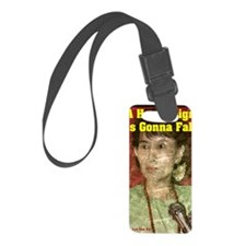 Aung_San_11x17 Luggage Tag