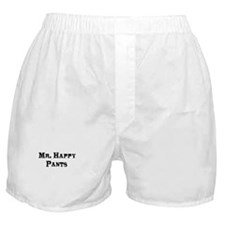 """Mr. Happy Pants"" boxer shorts"
