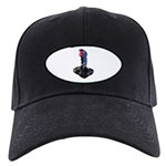 Worn Retro Joystick Black Cap