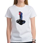 Worn Retro Joystick Women's T-Shirt