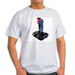 Worn Retro Joystick Light T-Shirt
