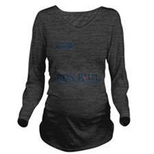 Ron Paul 2012 Lets G Long Sleeve Maternity T-Shirt