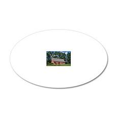 Van Alen House 20x12 Oval Wall Decal