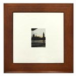 Big Ben Sunset Framed Tile