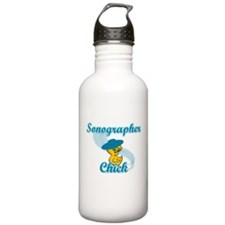 Sonographer Chick #3 Water Bottle