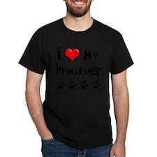I-Love-My-Weimaraner T-Shirt