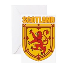 Scotland Lesser Arms Greeting Card