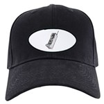Worn 80's Cellphone Black Cap
