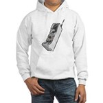 Worn 80's Cellphone Hooded Sweatshirt