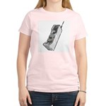 Worn 80's Cellphone Women's Light T-Shirt