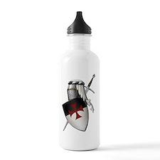 templar shield b o w p Water Bottle