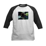Dark Sunflower Kids Baseball Jersey