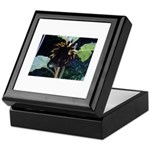 Dark Sunflower Keepsake Box