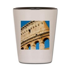 Colosseum Flip Cover Shot Glass