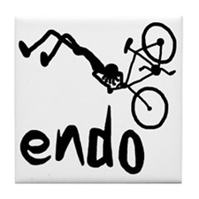 Endo_Stick_figure Tile Coaster