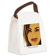 Dirty Sanchez Canvas Lunch Bag