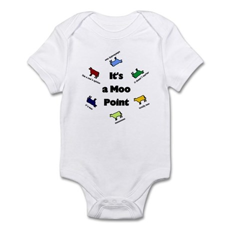 It's a Moo Point Infant Bodysuit