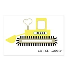 little digger Postcards (Package of 8)