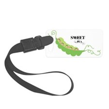 sweet pea Luggage Tag