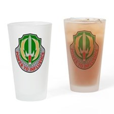 3rd Airborne Psychological Operatio Drinking Glass