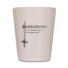 Barbarian Black Shot Glass