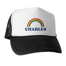 CHARLES (rainbow) Trucker Hat