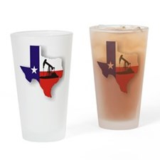 Texas Drinking Glass