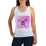 I Love You This Much - Pink -Women's Tank Top