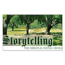 storytelling the orig soc medi Decal