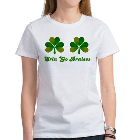 Erin Go Braless Women's T-Shirt