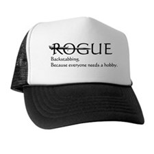 roguebackstabblack Trucker Hat