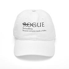 roguebackstabblack Baseball Cap
