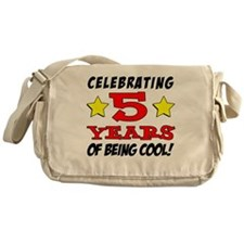 Celebrating 5 Years Cool Messenger Bag
