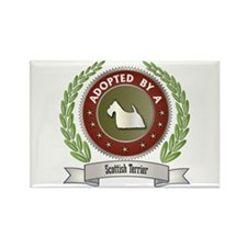 Scottie Adopted Rectangle Magnet (10 pack)