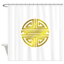 Longivity01 Shower Curtain