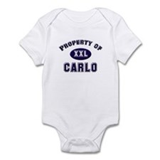 Property of carlo Onesie