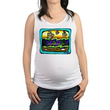 Caffeine and Anger Maternity Tank Top