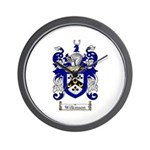 Wilkinson Coat of Arms Crest Wall Clock