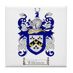 Wilkinson Coat of Arms Crest Tile Coaster