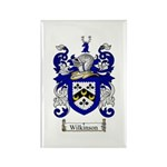 Wilkinson Coat of Arms Crest Rectangle Magnet (100