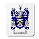 Wilkinson Coat of Arms Crest Mousepad