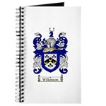 Wilkinson Coat of Arms Crest Journal