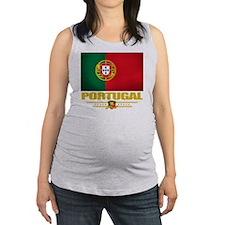 Portugal (Flag 10) Maternity Tank Top