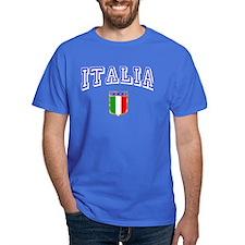 1 side print Italia Italian T-Shirt