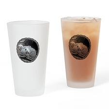 David  Alexandra 2011 for dark copy Drinking Glass