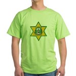 Merced County Sheriff Green T-Shirt