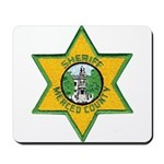 Merced County Sheriff Mousepad