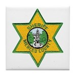 Merced County Sheriff Tile Coaster
