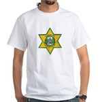 Merced County Sheriff White T-Shirt
