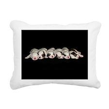 Puppies16x20 Rectangular Canvas Pillow